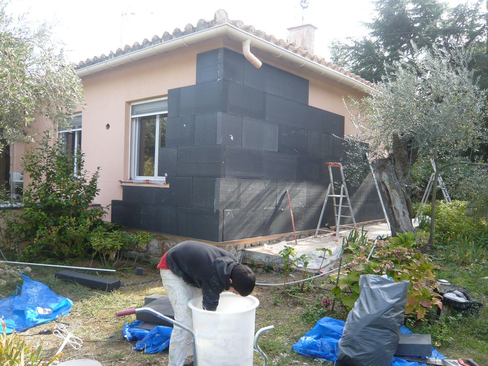 Entreprise d 39 isolation de maisons b timents for Isolation thermique par exterieur